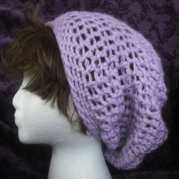 Sale Easy Super Slouch Hat Crochet Pdf Pattern Beret Crochet